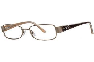 LAmy Desiree Eyeglass Frames - Frame Matte Gold, Size 51/17mm LYDESIREE01