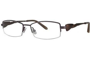 LAmy Galea 2010 Progressive Prescription Eyeglasses - Frame Light Purple/Brown, Size 51/16mm LYGALEA201004