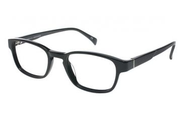 LAmy Henri Progressive Prescription Eyeglasses - Frame Black, Size 48/19mm LYHENRI01