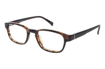 LAmy Henri Progressive Prescription Eyeglasses - Frame Havana, Size 48/19mm LYHENRI02