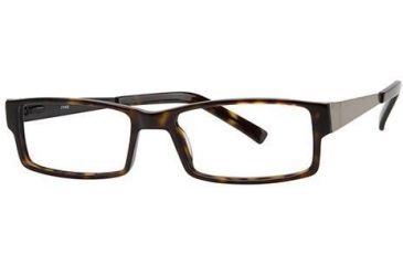 LAmy Julian Bifocal Prescription Eyeglasses - Frame Brown Tortoise, Size 55/17mm LYJULIAN01
