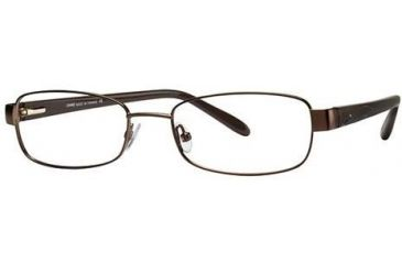 LAmy L'ACCENT 422 Single Vision Prescription Eyeglasses - Frame BROWN, Size 51/17mm LYACCENT42201