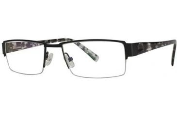 LAmy Laurent Bifocal Prescription Eyeglasses - Frame Matte Black/Tortoise LYLAURENT01
