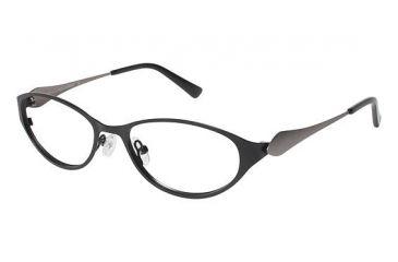 LAmy Olivie Progressive Prescription Eyeglasses - Frame Black / Dark Grey, Size 52/17mm LYOLIVIE01