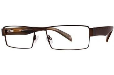 LAmy Panama 1013 Single Vision Prescription Eyeglasses - Frame Brown LYPANAMA101305