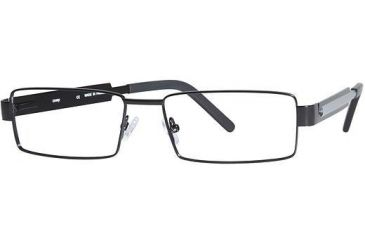 LAmy Plug 1013 Progressive Prescription Eyeglasses - Frame Semi Matte Black/ Grey LYPLUG101306