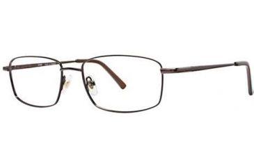 LAmy Port 413 Progressive Prescription Eyeglasses - Frame Brown/Gold, Size 54/17mm LYPORT41302