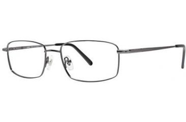 LAmy Port 413 Progressive Prescription Eyeglasses - Frame Gunmetal/Black, Size 54/17mm LYPORT41301