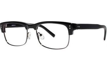 LAmy Sebastien Progressive Prescription Eyeglasses - Frame Black/ Gun, Size 53/17mm LYSEBASTIEN01
