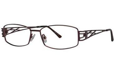 LAmy TRESSEA1012 Single Vision Prescription Eyeglasses - Frame Brown, Size 53/15mm LYTRESA101204