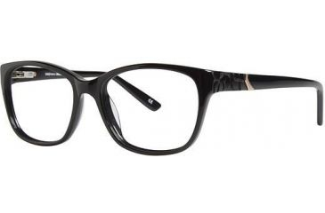 LAmy Vivienne Single Vision Prescription Eyeglasses - Frame Black, Size 51/16mm LYVIVIENNE04