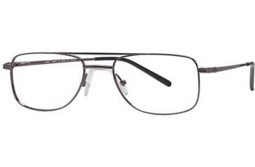 LAmy W-Port 501 Single Vision Prescription Eyeglasses - Frame BRIGHT LIGHT GUN, Size 53/19mm LYWPORT50103S