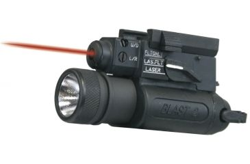 Laser Devices LED BLAST-2 Tactical System w/ Visible Red Pointer, Compact Size Light Head