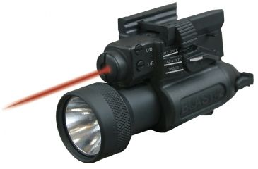 Laser Devices LED BLAST-2 Tactical System w/ Visible Red Pointer, Full Size Light Head