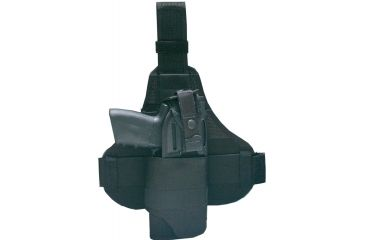 Laser Devices Tactical Thigh Holster, Right, Size 3 - SOCOM, Desert Eagle, HK USP Exp