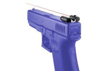1-Laserlyte Fits Glock Handgun Rear Sight Laser Sight