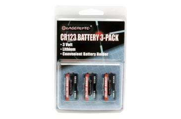Laser Lyte Battery 3 Pack - CR123 Batteries BAT-CR123