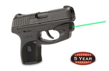 1-LaserMax CenterFire Green Laser Sight for Ruger LC9, LC9S, and LC380