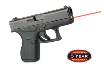 Lasermax Guide Rod Red Laser Sight for Glock42