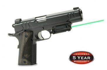 1-LaserMax Uni-Max Picatinny Rail Mounted Lasersight, Green