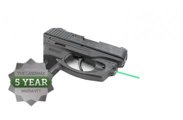 4-LaserMax CenterFire Green Laser Sight for Ruger LC9, LC9S, and LC380