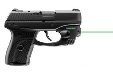 3-LaserMax CenterFire Green Laser Sight for Ruger LC9, LC9S, and LC380