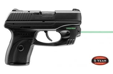2-LaserMax CenterFire Green Laser Sight for Ruger LC9, LC9S, and LC380