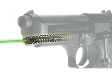 5-LaserMax Green Laser Sight for Beretta 92, 96 and Taurus 92, 99, 100, 101