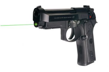 6-LaserMax Green Laser Sight for Beretta 92, 96 and Taurus 92, 99, 100, 101