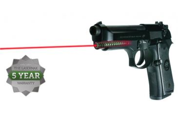7-LaserMax Green Laser Sight for Beretta 92, 96 and Taurus 92, 99, 100, 101