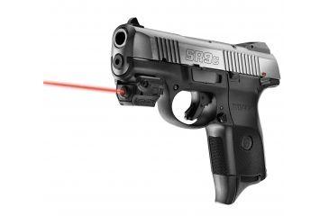 LaserMax Unimax Micro Rail Mounted Red Laser - Sub-Compact Pistols LMS-MICRO