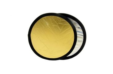 """Lastolite 12"""" Collapsible Reflector - Silver/gold LL LR1234"""