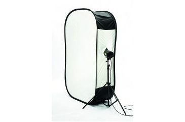 Lastolite Camera Lighting Equipment Lastolite6' x 4' Megalite Softbox with full Silver Reflector on back LL-LB6488