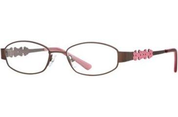 Laura Ashley A Bloomy Day SELG ABLO00 Eyeglass Frames - Chocolate SELG ABLO004625 BN