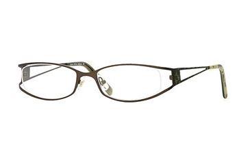 Laura Ashley Addison SELA ADDI00 Progressive Prescription Eyeglasses - Caramel Apple SELA ADDI005435 BN