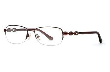 Laura Ashley Aerin SELA AERI00 Progressive Prescription Eyeglasses - Dark Roast SELA AERI005330 BN