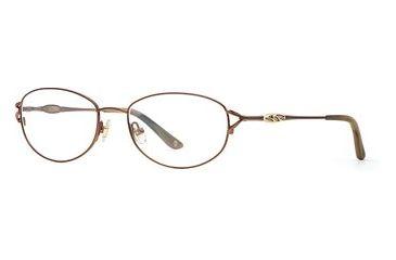 Laura Ashley Cora SELA CORA00 Bifocal Prescription Eyeglasses - Teak SELA CORA005330 BN