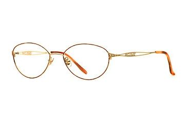 Laura Ashley Gretta SELA GRET00 Bifocal Prescription Eyeglasses - Toffee SELA GRET005235 BN