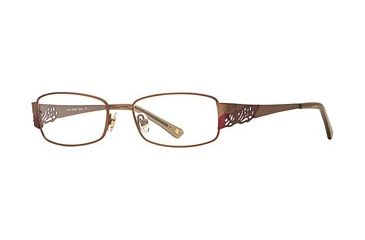 Laura Ashley Jenna SELA JENA00 Single Vision Prescription Eyewear - Gold SELA JENA005240 GO