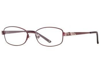 Laura Ashley Lillian SELA LILL00 Bifocal Prescription Eyeglasses - Garnet SELA LILL005135 BUR