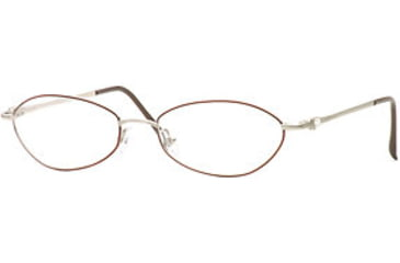 Laura Ashley Provence SELA PROV00 Single Vision Prescription Eyewear - Scarlet SELA PROV005335 BUR