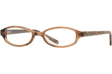 Laura Ashley Wild Flower SELG WILD00 Bifocal Prescription Eyeglasses - Brown SELG WILD004520 BN