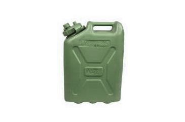 LC Industries Plastic Water Can 5 Gallon OD Green 600409