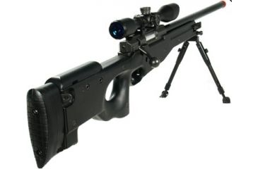 Leapers AccuShot Competition Shadow Ops Sniper Rifle-Black SOFT-S368BH