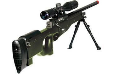 Leapers AccuShot Competition Shadow Ops Sniper Rifle-OD Green SOFT-S368GH