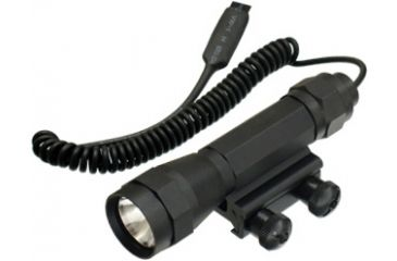 1-Leapers Deluxe Flashlight with Integral Mount LT-TL101