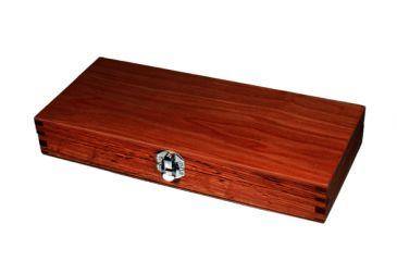 Leapers UTG Deluxe Pistol Cleaning Kit in Wooden Case TL-CLPTK