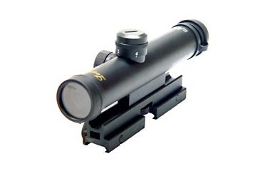 ... Image 4x28 Mini Szie AR-15 Scope with Bullet Drop Compensator SCP-428P