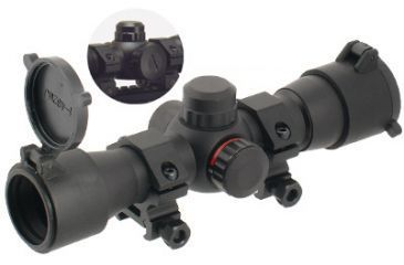 Leapers Golden Image UTG 1 inch Red/Green Dot SWATFORCE Scope SCP-RD25RGW