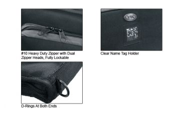 "Leapers Rifle Case 38"" - Homeland Security MC38B"